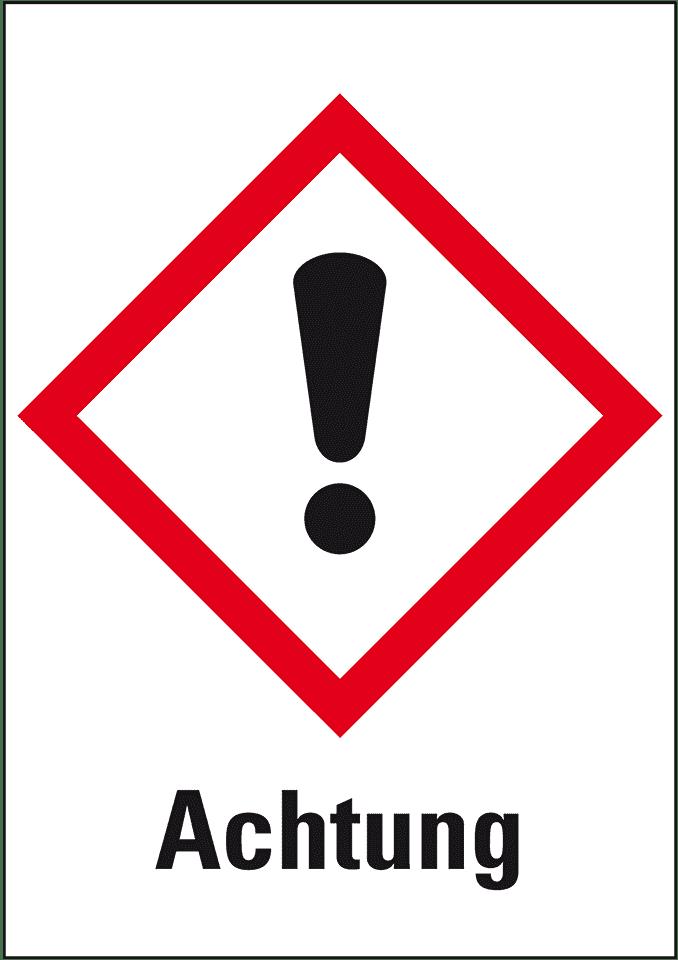 ätzend Gefahrensymbol